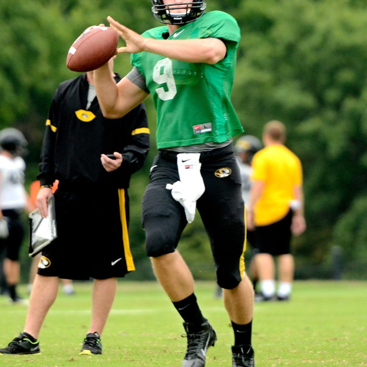 the latest 33234 28f59 Missouri quarterback Eddie Printz remembers Auburn tight end ...
