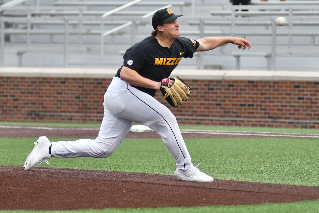 Sikkema throws seven no-hit innings as Missouri baseball