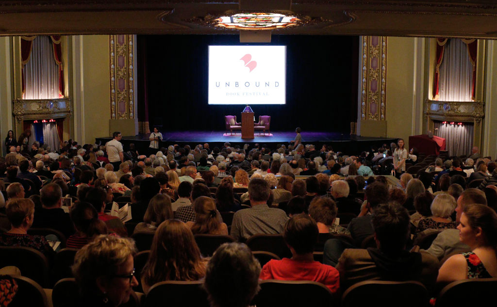 Hundreds gather for first annual Unbound Book Festival