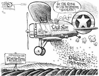 Hartzler bailout money