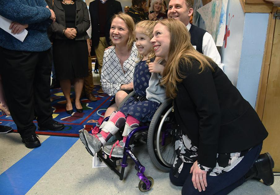 chelsea clinton u0026 39 s visit highlights importance of early childhood education