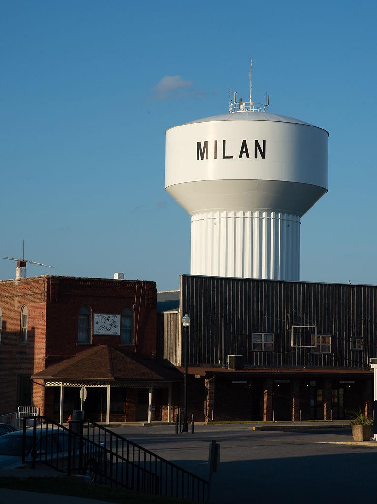 Downtown Milan, Missouri, in September 2015.