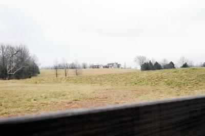 Forty-seven acres surround a $1 million on Strawn Road