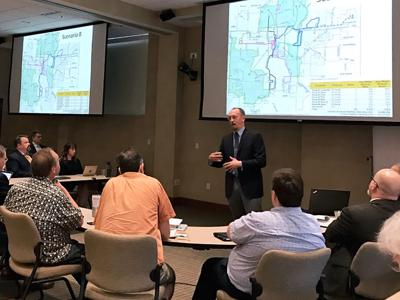 Tom Worker-Braddock presents alternative plans for the COMO Connect bus system