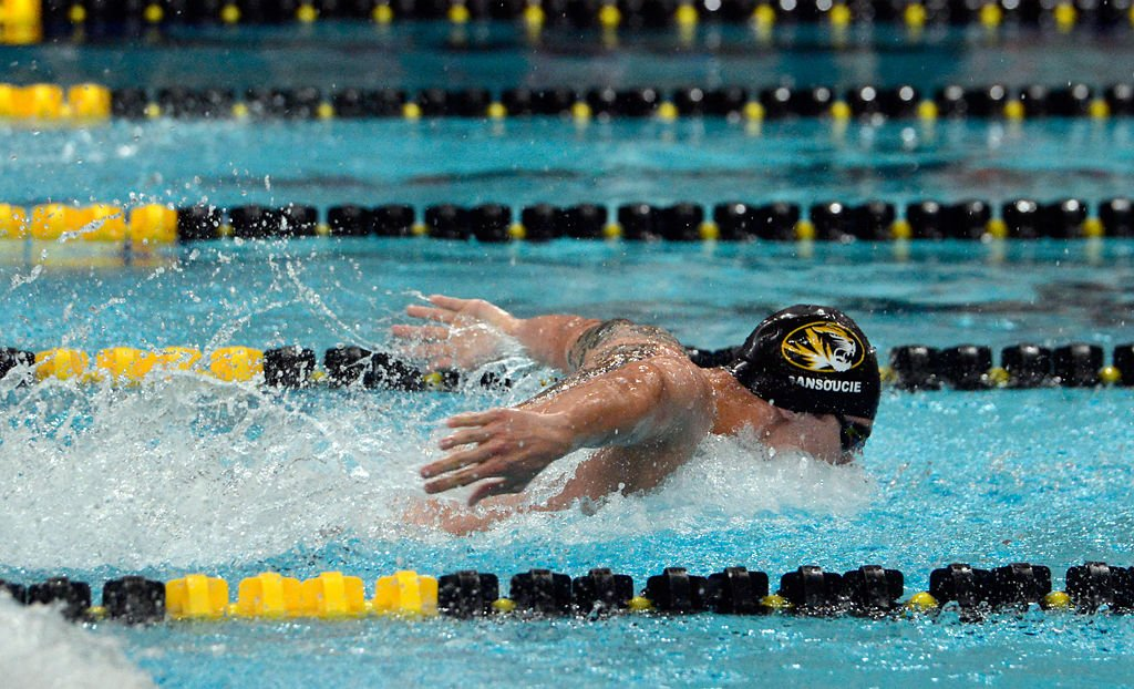 Andrew Sansoucie posts NCAA A-cut times at Mizzou Invite