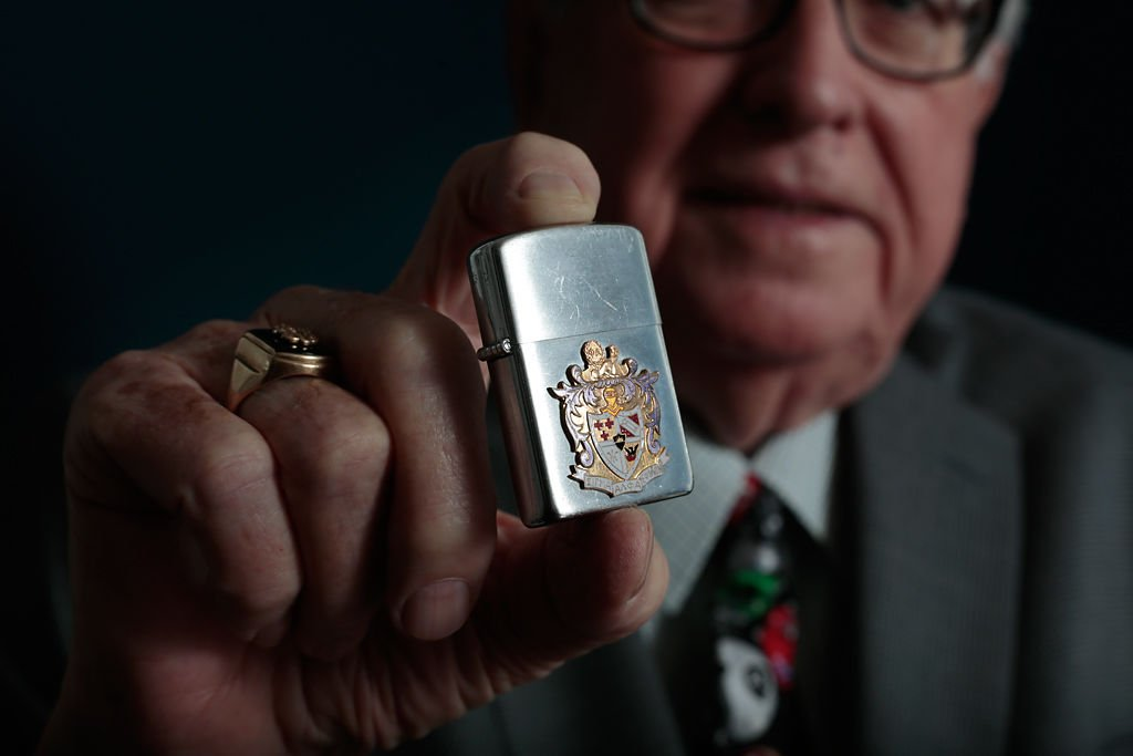 Lost for 64 years, fraternity lighter finds way back to MU alum ...