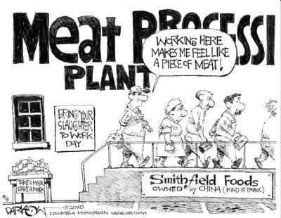 Meat shortage (That's what she said)