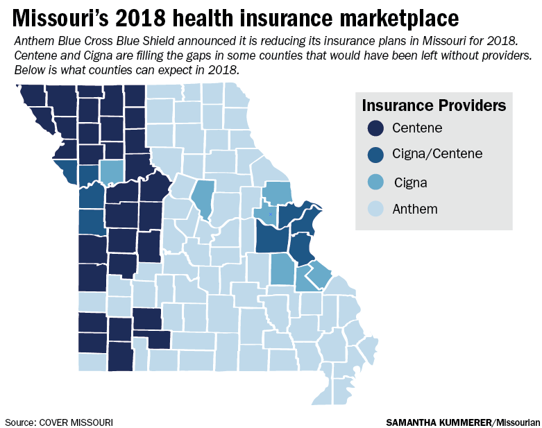 Anthem out, Cigna plans to enter Boone County insurance ...