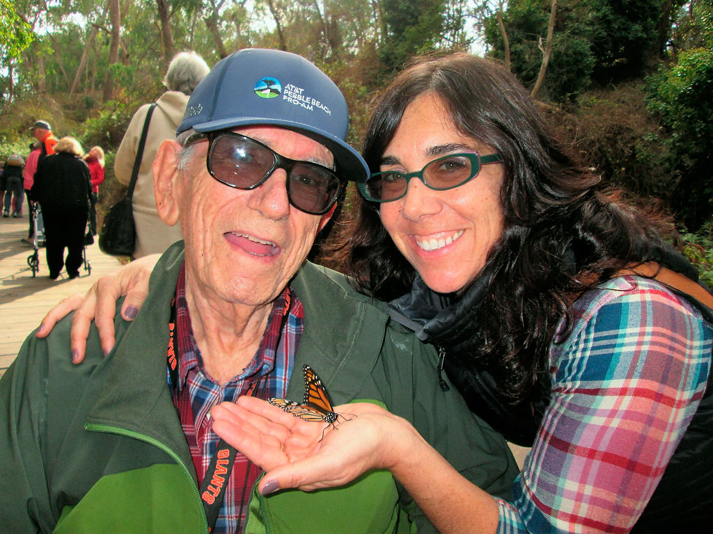 David Rabinowitz and Ruth Rabinowitz in California