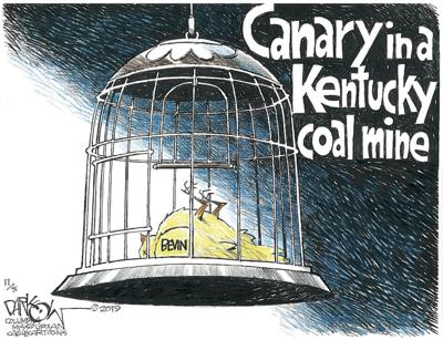 Canary in a Kentucky coal mine