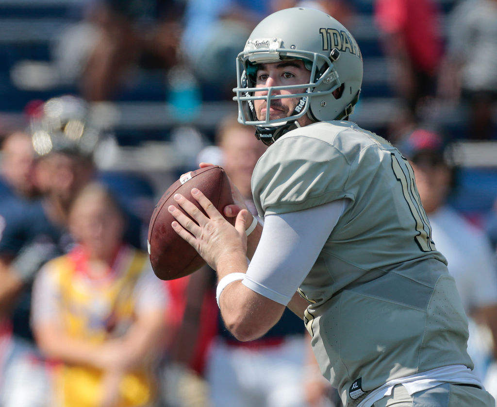 Opponent preview Idaho brings experienced QB to
