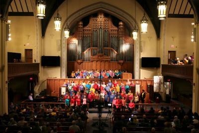 Audience jumps in at benefit concert to raise money for BOLD Academy