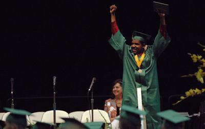 Rock Bridge High School posts city's highest graduation rates