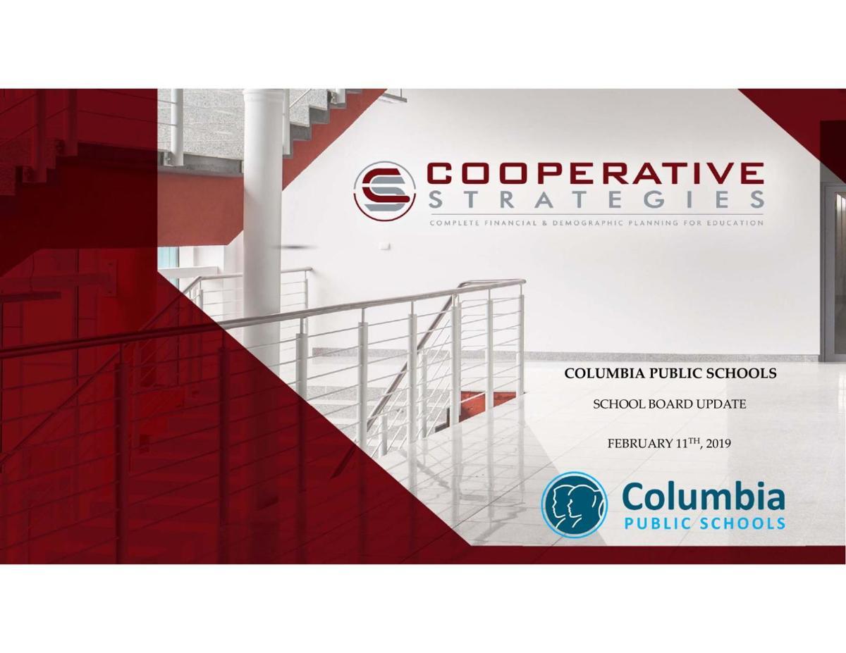 Cooperative Strategies presentation to the Columbia School Board on Feb. 11