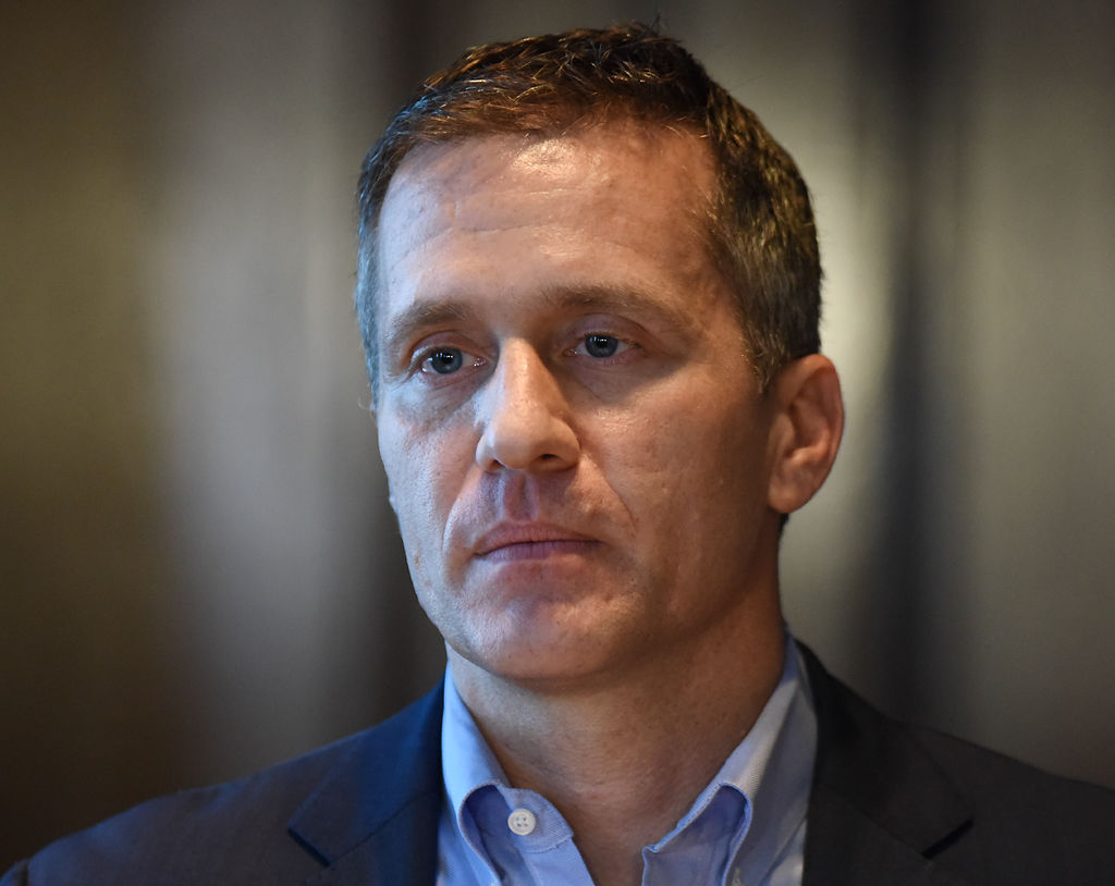 Gov. Eric Greitens condemns an investigation into his indictment
