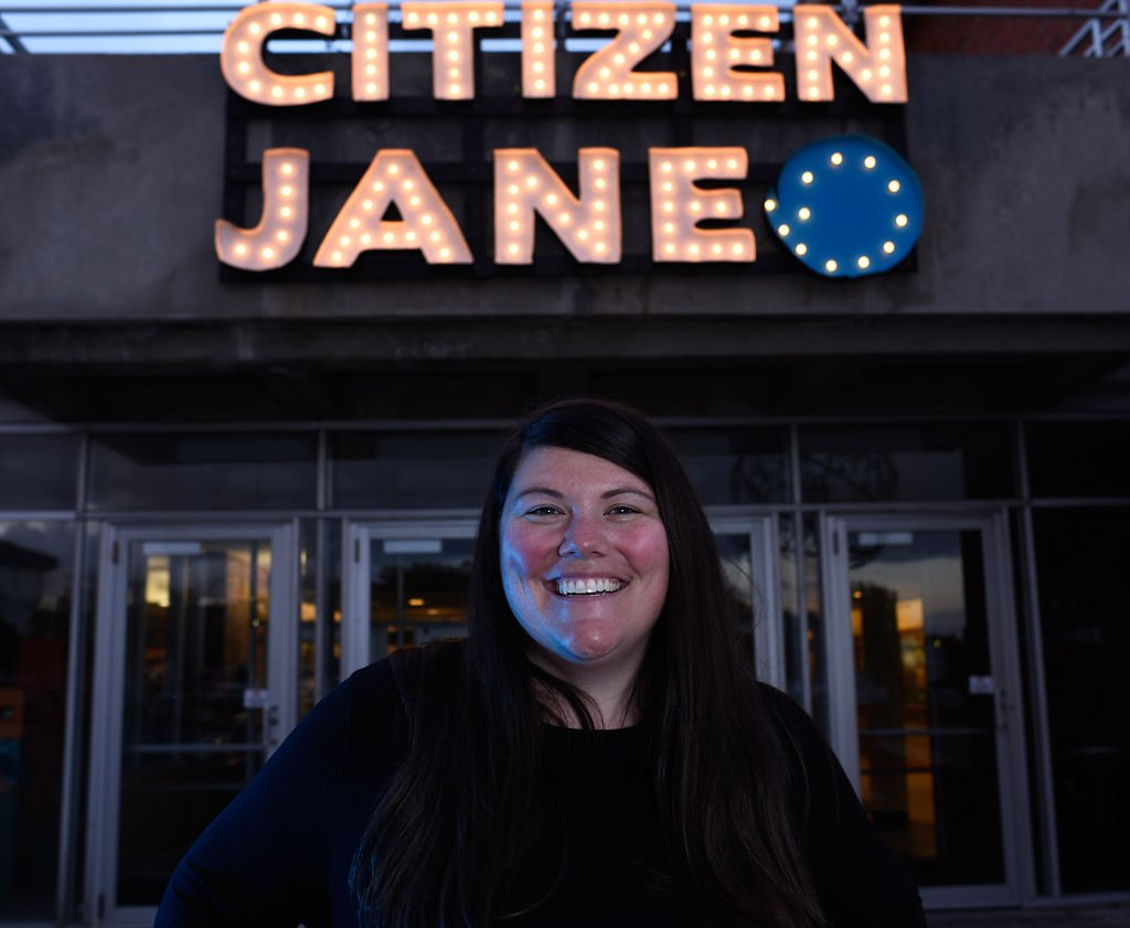 Barbie Banks works to put on the Citizen Jane Film Festival