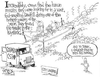Landfill find