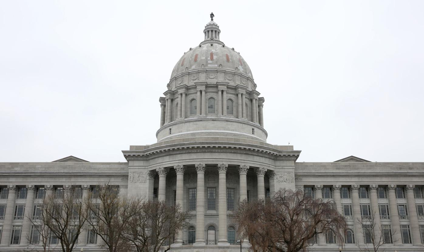 The Missouri State Capitol is pictured