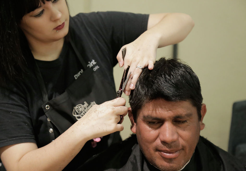 Columbias Project Homeless Connect Provides Food Haircuts News