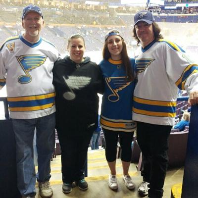 Melanie Rau's love for hockey came from her family