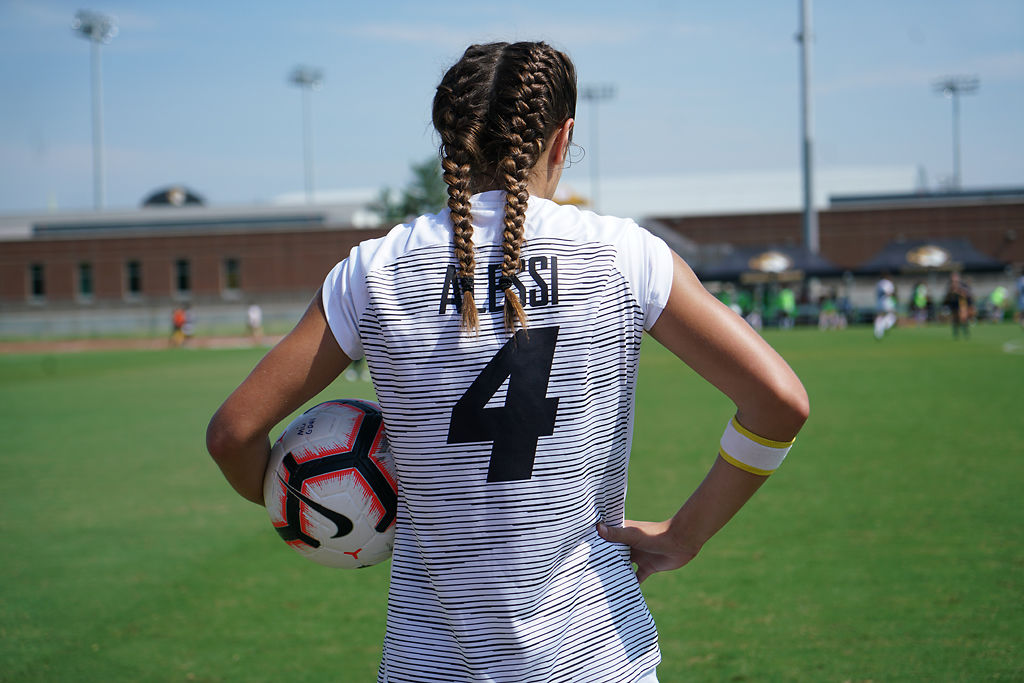 Bella Alessi holds the ball