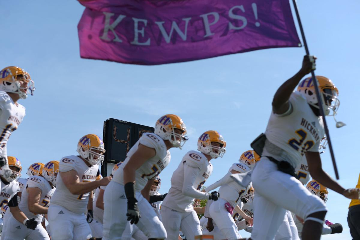 The Hickman Kewpies take to the field