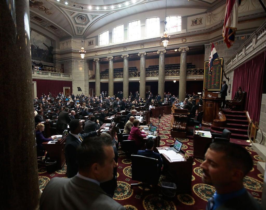House chamber-GA opening day