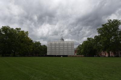 A storm approaches MU