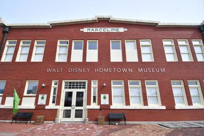 The Walt Disney Hometown Museum is located in the Old Santa Fe Train Station