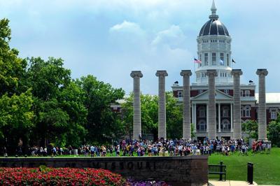 MU grad students march in protest