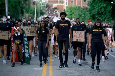 March with Mizzou gives fans, student-athletes a 'great night to make some change'