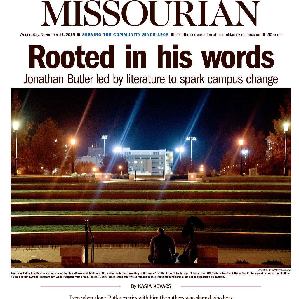 Two years after protests new leadership looks to send mu on upward missourian front page nov 11 2015 altavistaventures Gallery
