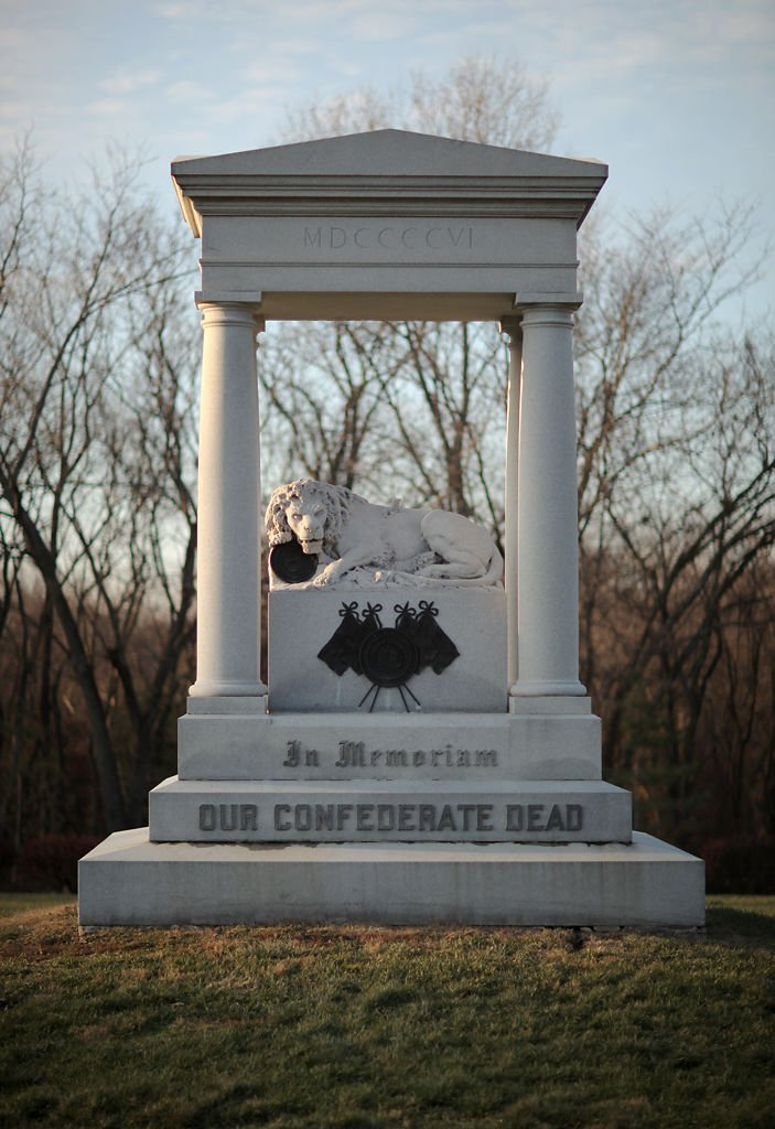 The United Daughters of the Confederacy dedicated a monument