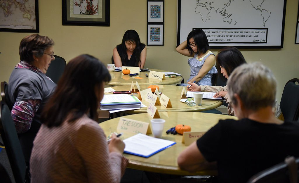 A weekly meeting is held by Shirley Colbert on Tuesday at International Friends Center
