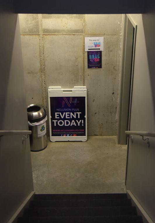 Nclusion Plus holds events in the basement of Twaddle Orthodontics