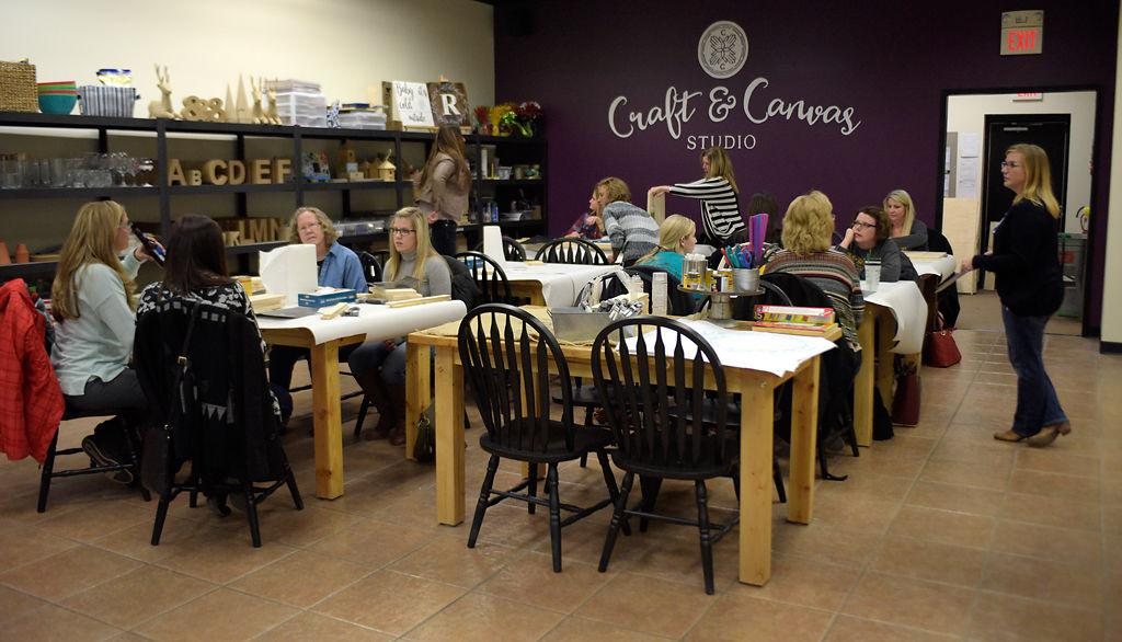 Craft-and-sip studios develop into a sturdy trend | Local