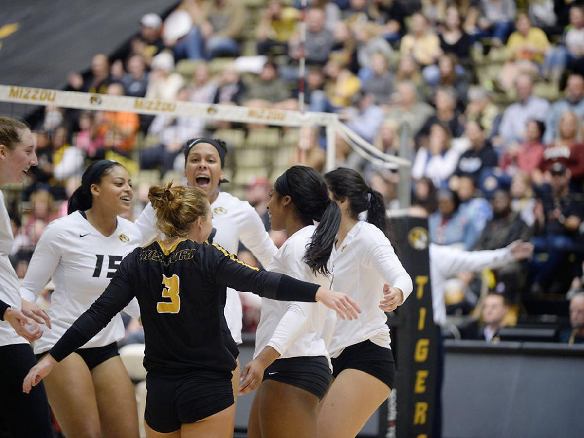 Missouri Volleyball S Path To Hosting Ncaa Tournament Matches Mizzou Sports Columbiamissourian Com