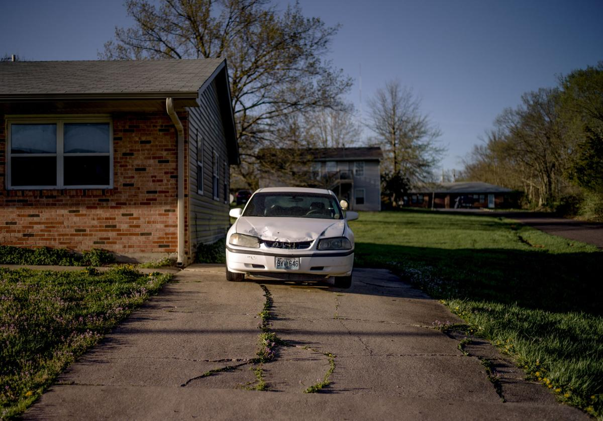 Deonte Gainwell was shot on this driveway