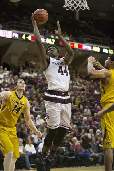 Missouri basketball against Texas A&M