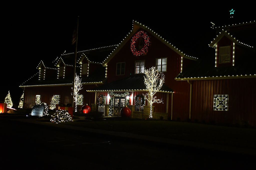 Warm Springs Ranch holiday lights