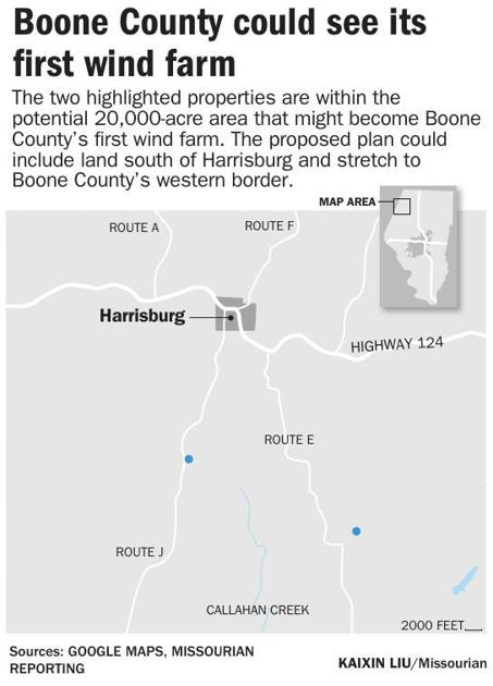 Wind farm planned for northwest Boone County | Local