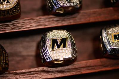 cab25bc7793 Gary Pinkel's championship ring. A Missouri football Southeastern ...