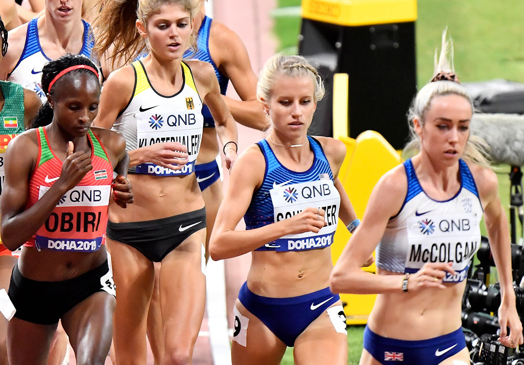 Karissa Schweizer runs at the IAAF World Championships (copy)