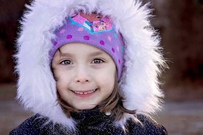 Makenzie Gongora, 9, passed away in her sleep early Monday morning