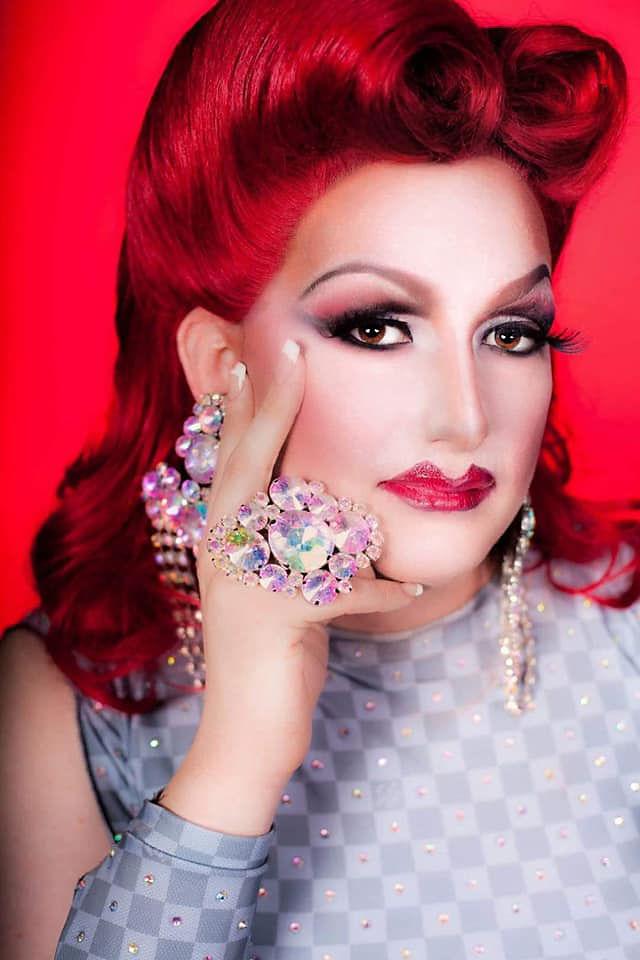 Local drag queen Amanda Lay has been performing