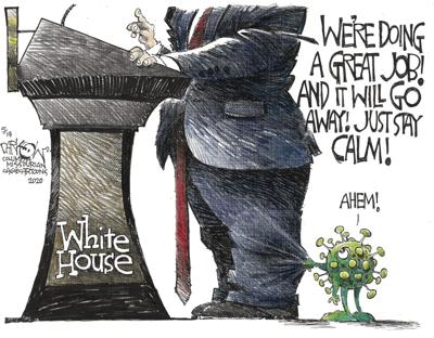 The hoax is in the White House