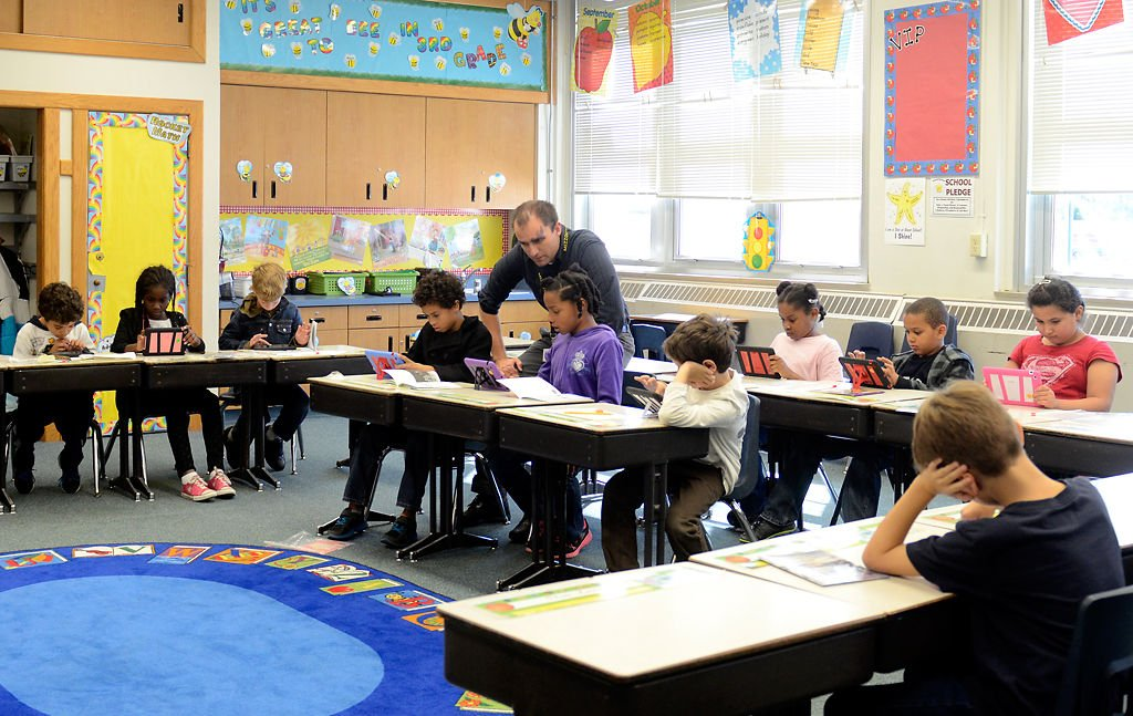 Elementary Classroom Pictures : Columbia elementary school teachers integrate ipads into