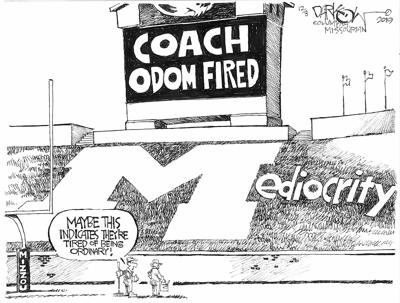 Coach Odom Fired
