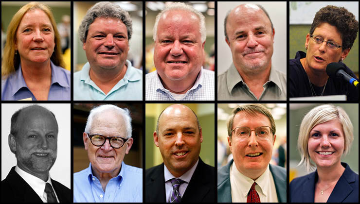 Candidates for Boone County Commission