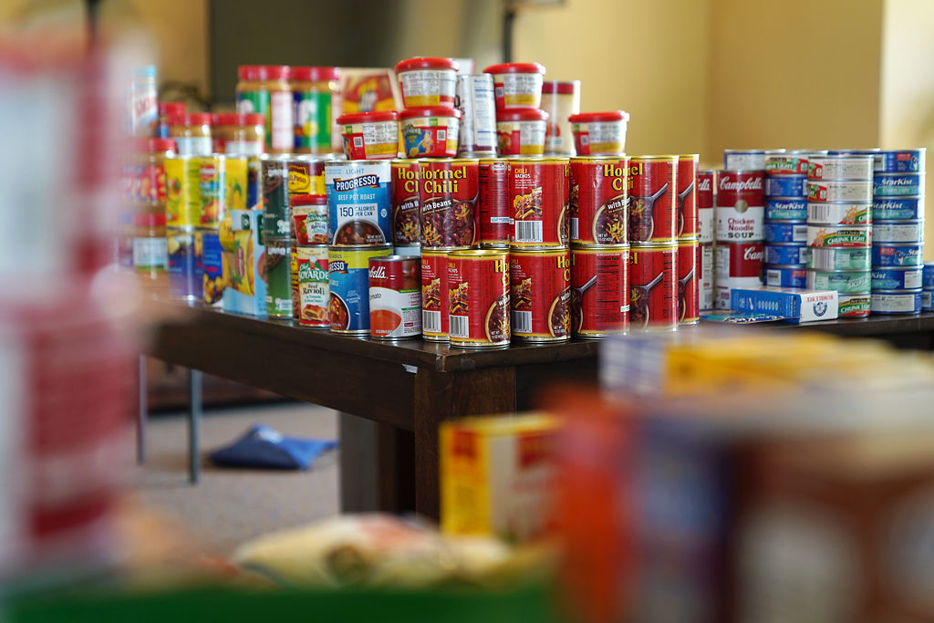 Many food donations have been collected by Beulah Ralph Outreach Committee